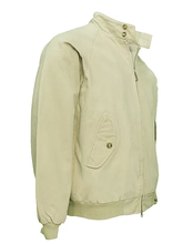 Load image into Gallery viewer, Real Hoxton Beige Harrington Jacket