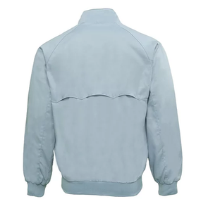 Real Hoxton Sky Blue Harrington Jacket