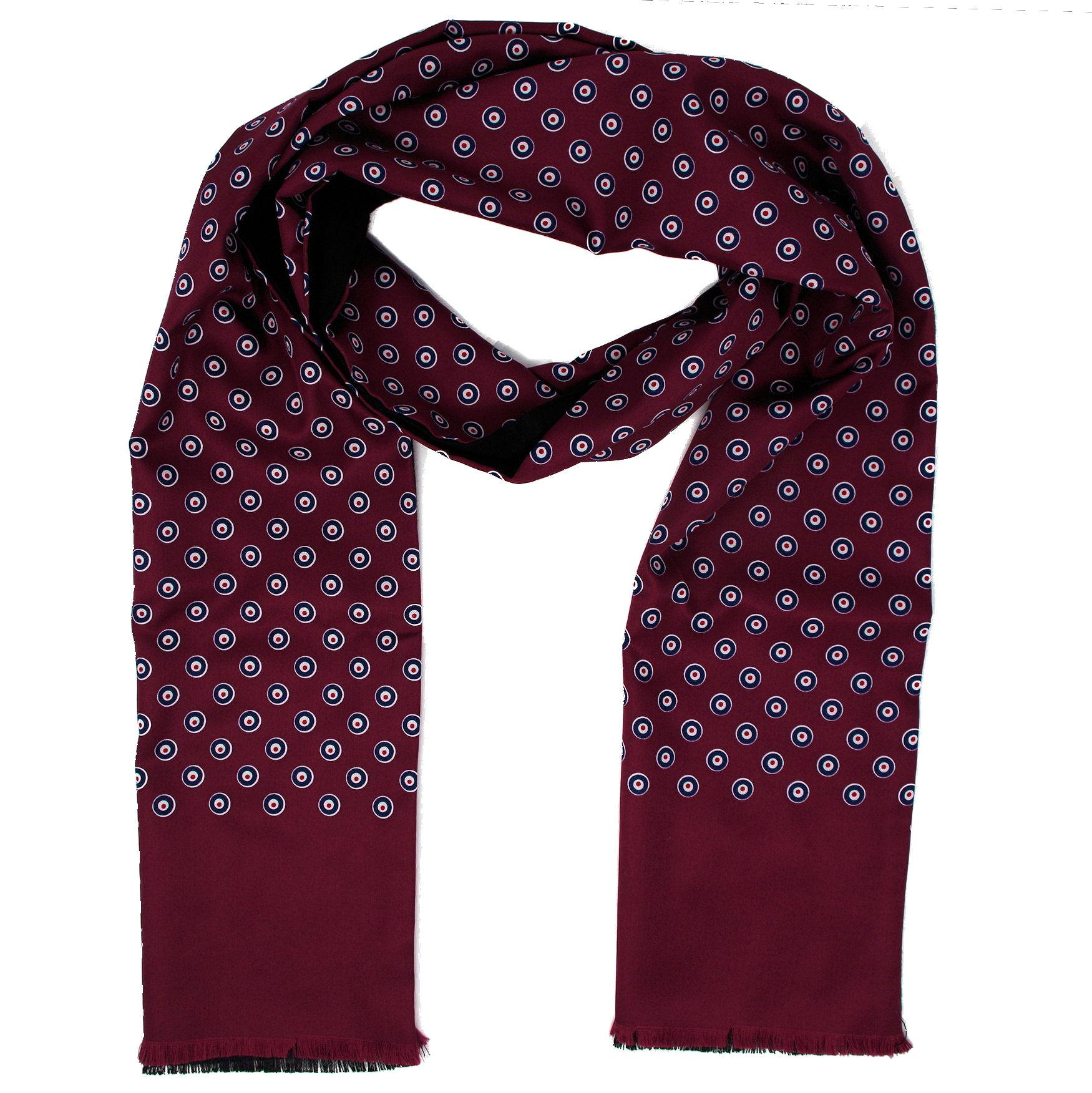 Warrior Classic Burgundy Target Scarf