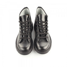 Load image into Gallery viewer, Grafters Black Leather Monkey Boots