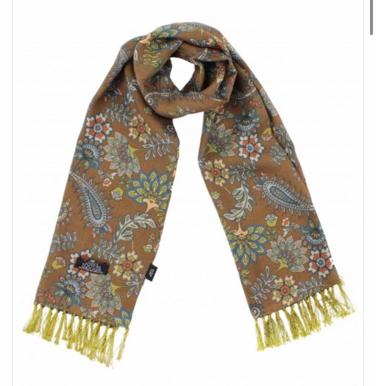 Tootal Floral Rayon Scarf