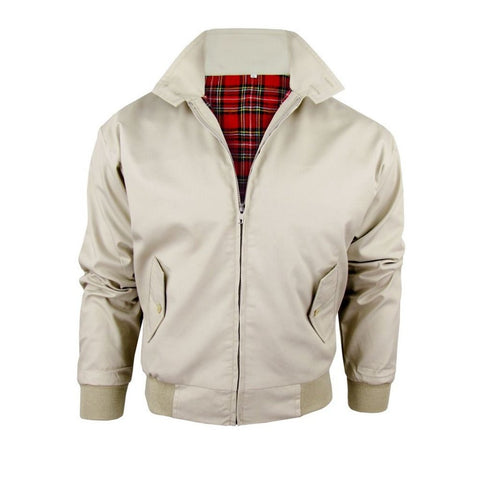 Relco Beige Harrington Jacket