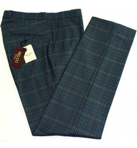 Relco Blue Check Trousers