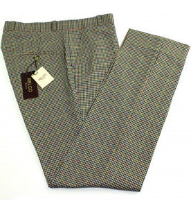 Relco Beige Check Trousers