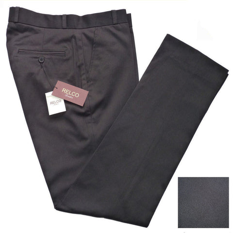 Relco Black Sta Prest Trousers