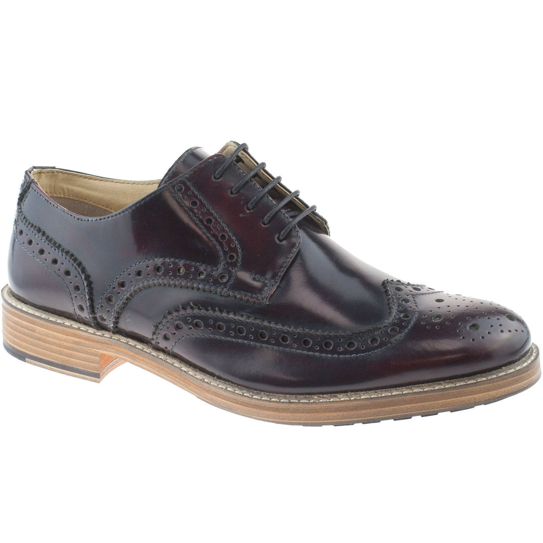 Roamers Oxblood Brogues