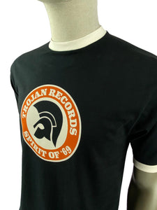 Trojan Spirit Of '69 logo tee Black