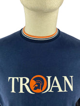 Load image into Gallery viewer, Trojan Signature Logo Tee Navy
