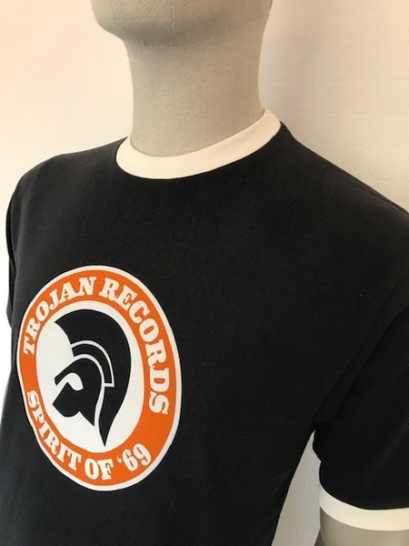 Trojan Black Spirit of '69 Tee