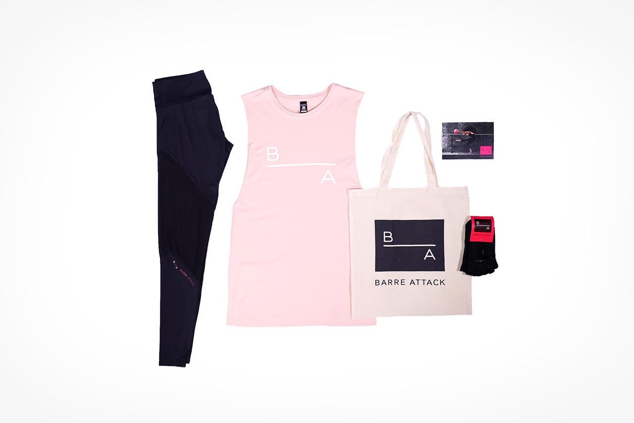 Barre Attack Christmas Apparel Pack