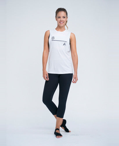 Muscle Tank White