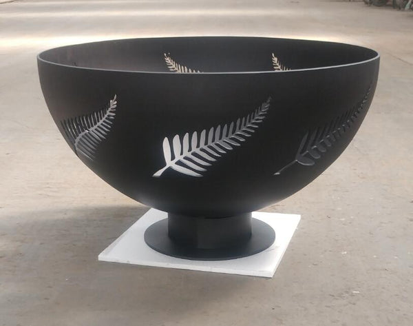 New Zealand Fern Firepit