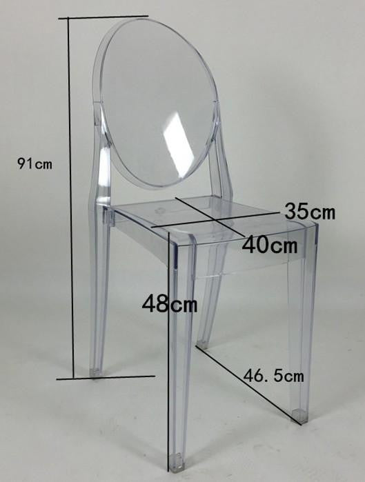 Ghost Chair Dimensions