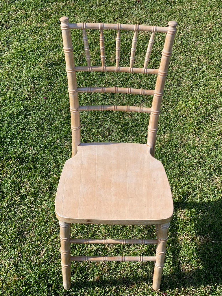 Lime wash Chiarvari chair