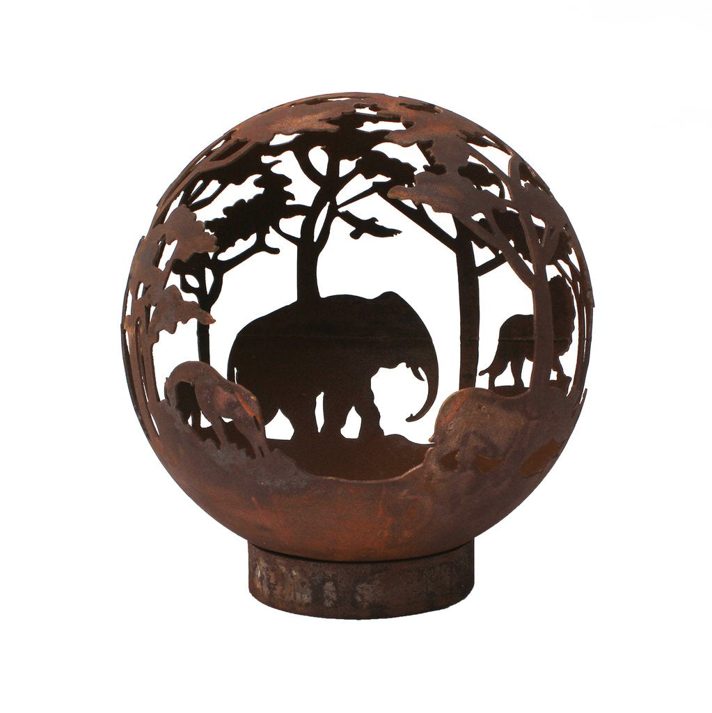 Safari elephant Firepit