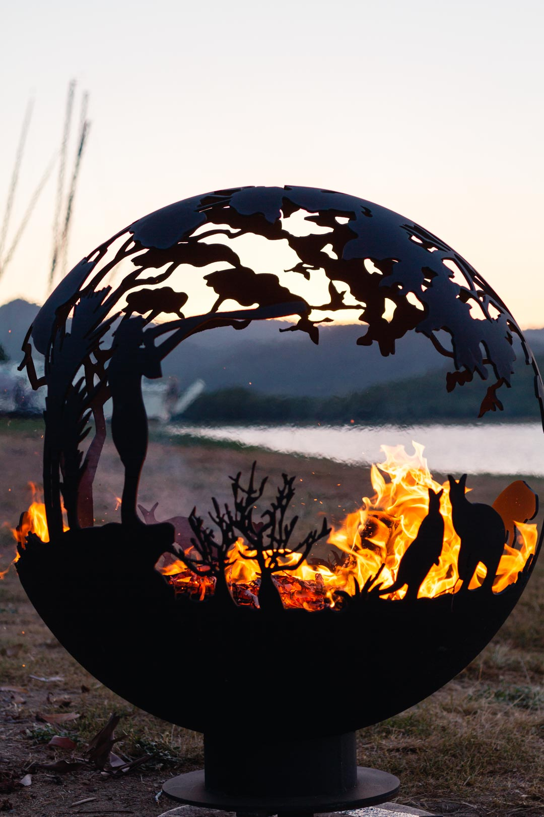 Aussie outback firepit for sale