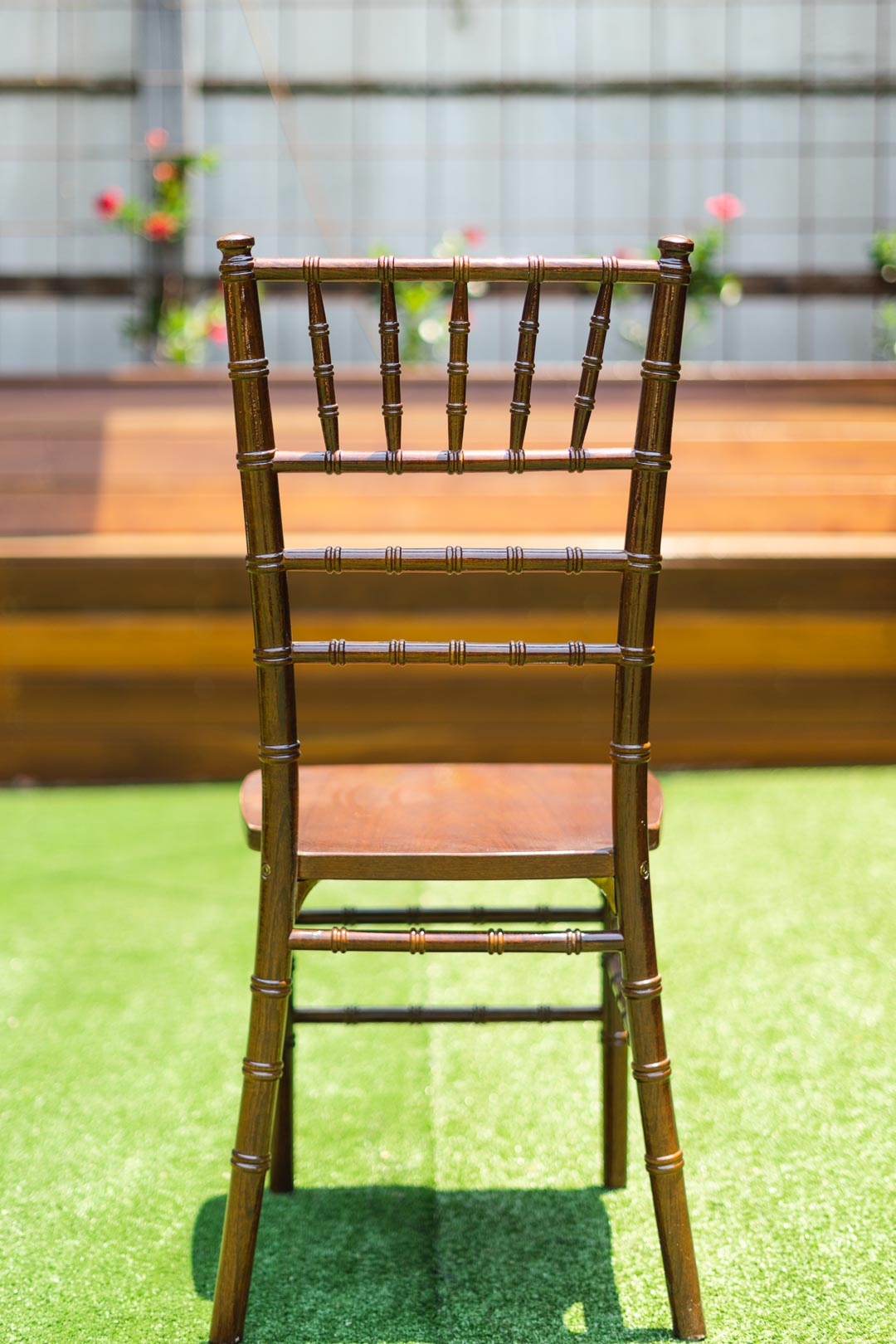 Walnut Tiffany Chair | Timber 6 per box @ $65 each