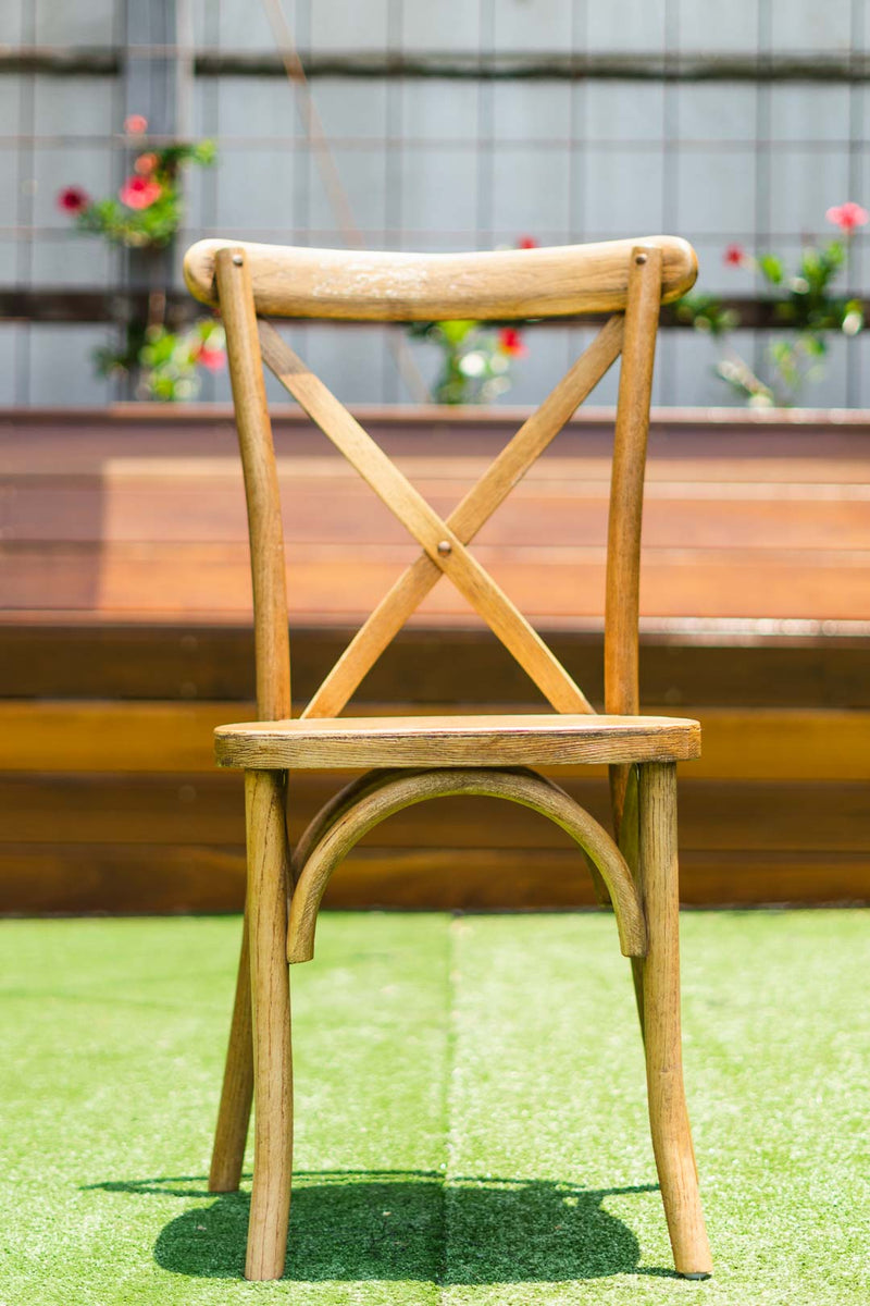 Cross back Chair bentwood