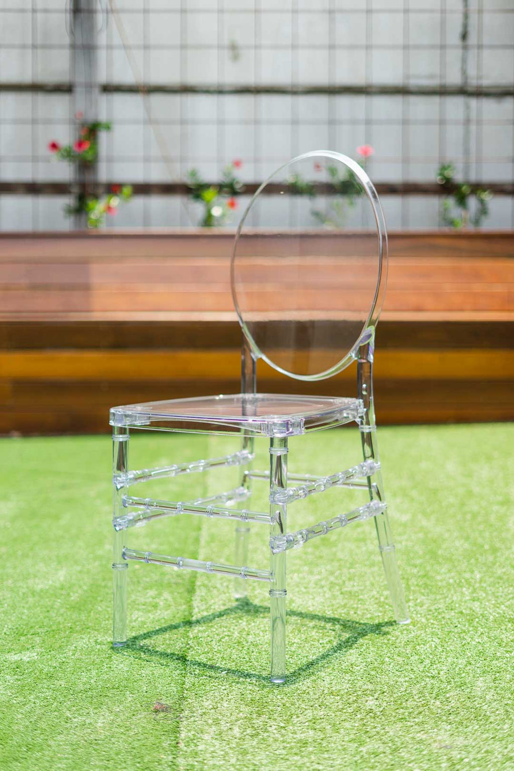Clear Ghost Chair - Tiffany Legs