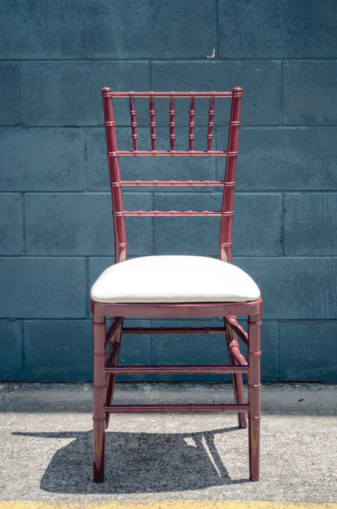 Mahogany Resin Tiffany Chair