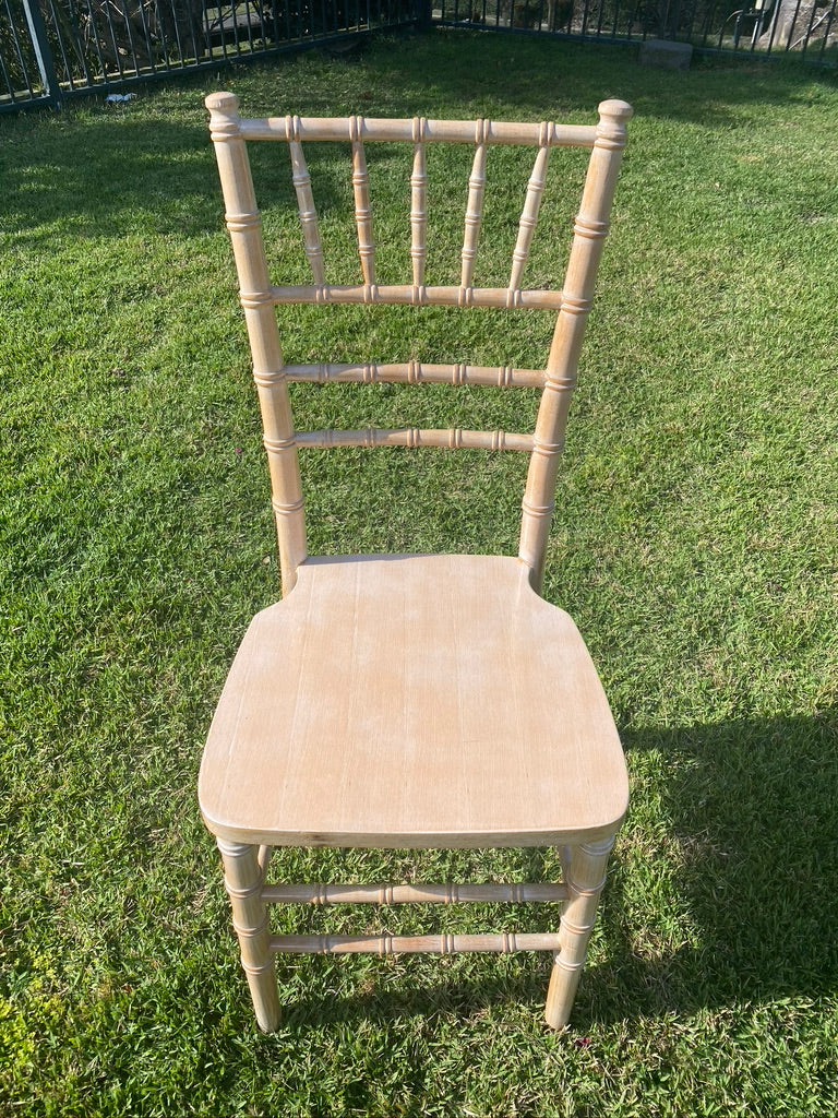 white wash tiffany chair