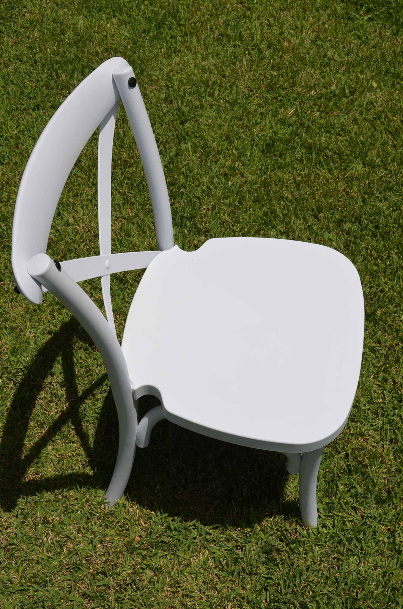 Kids Crossback chairs white