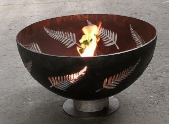 New Zealand Silver Fern Firepit