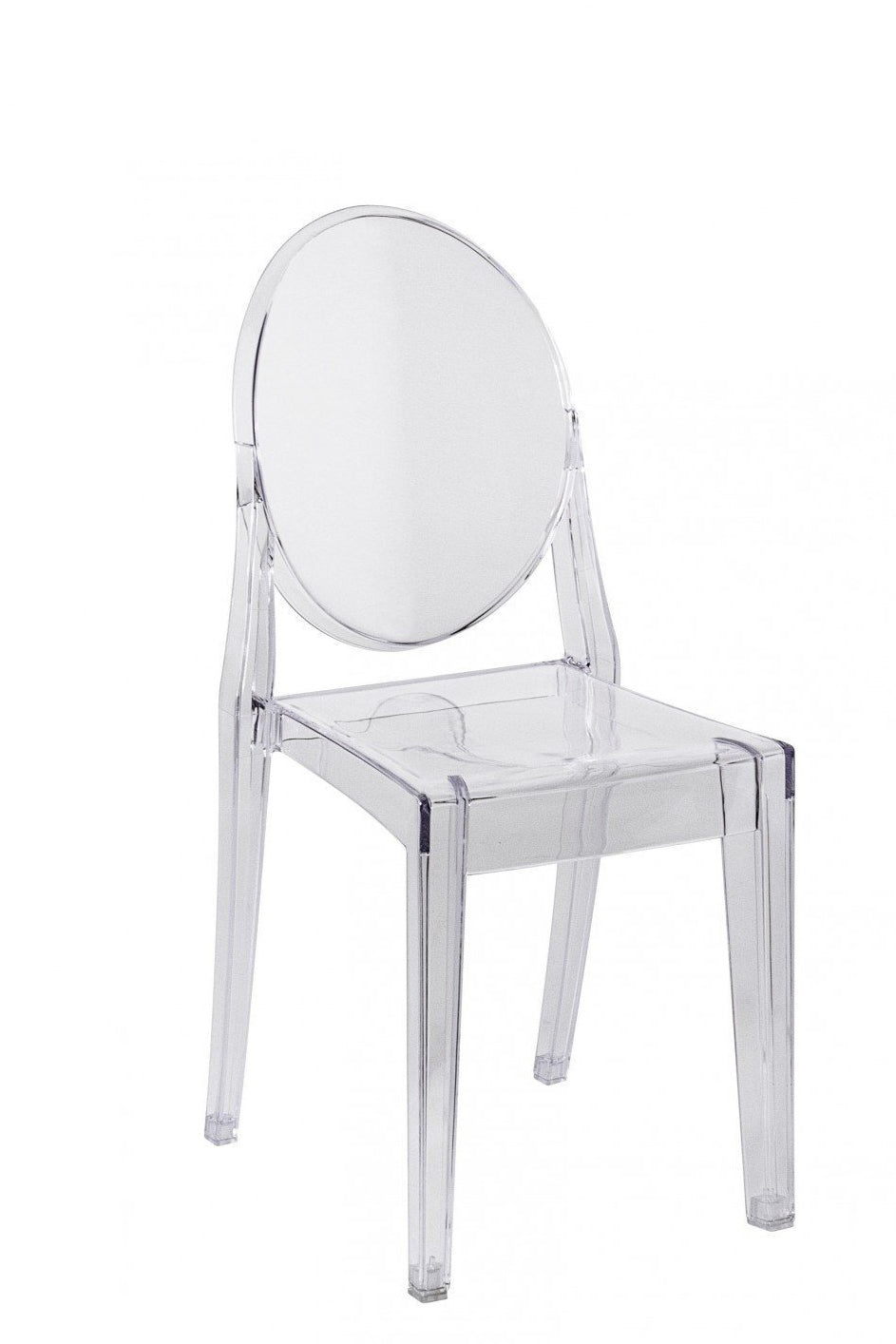 Clear Ghost Chairs for sale