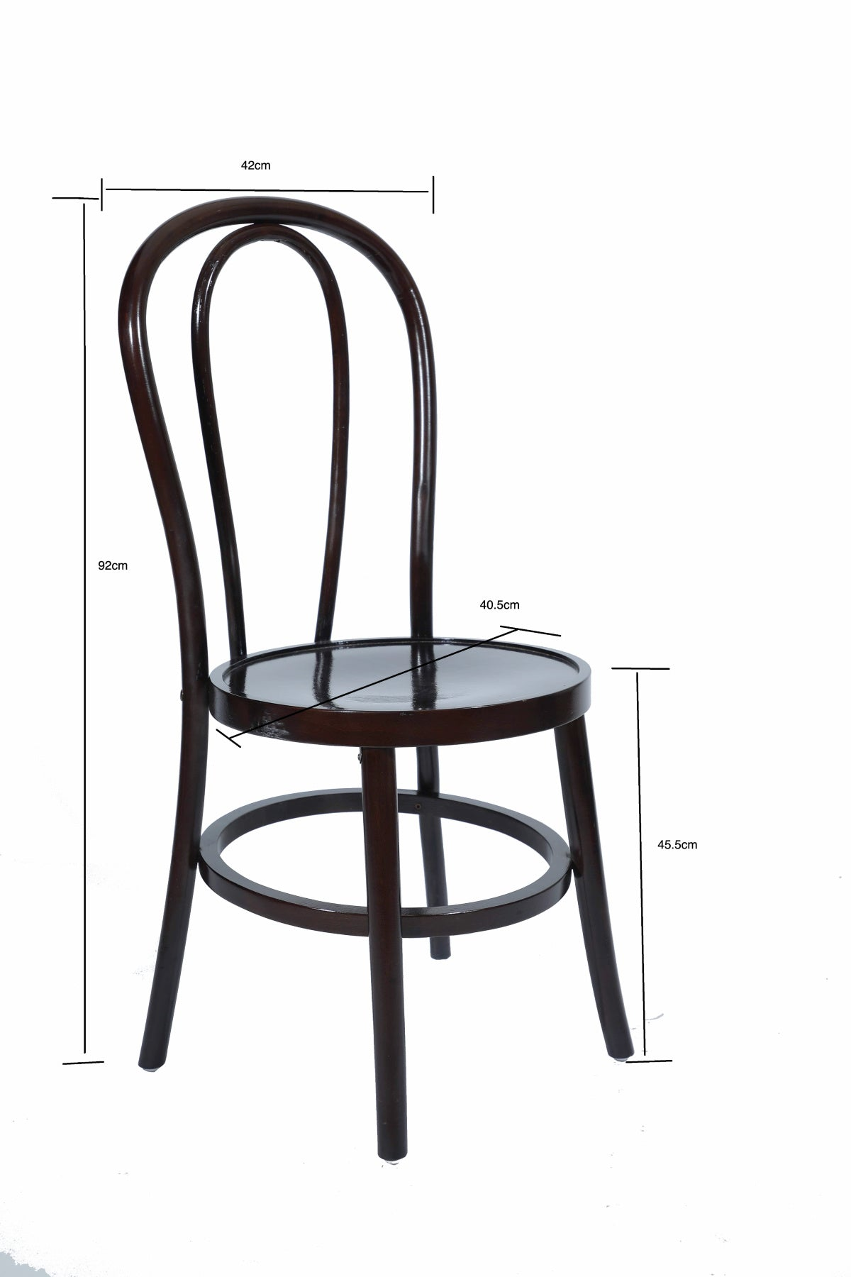Thornet bentwood dark chair