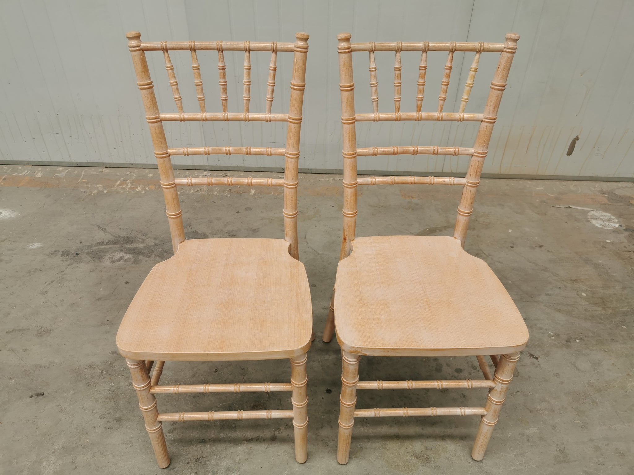 White Wash Tiffany Chair | Timber - Come in boxes of 6 @ $65 each