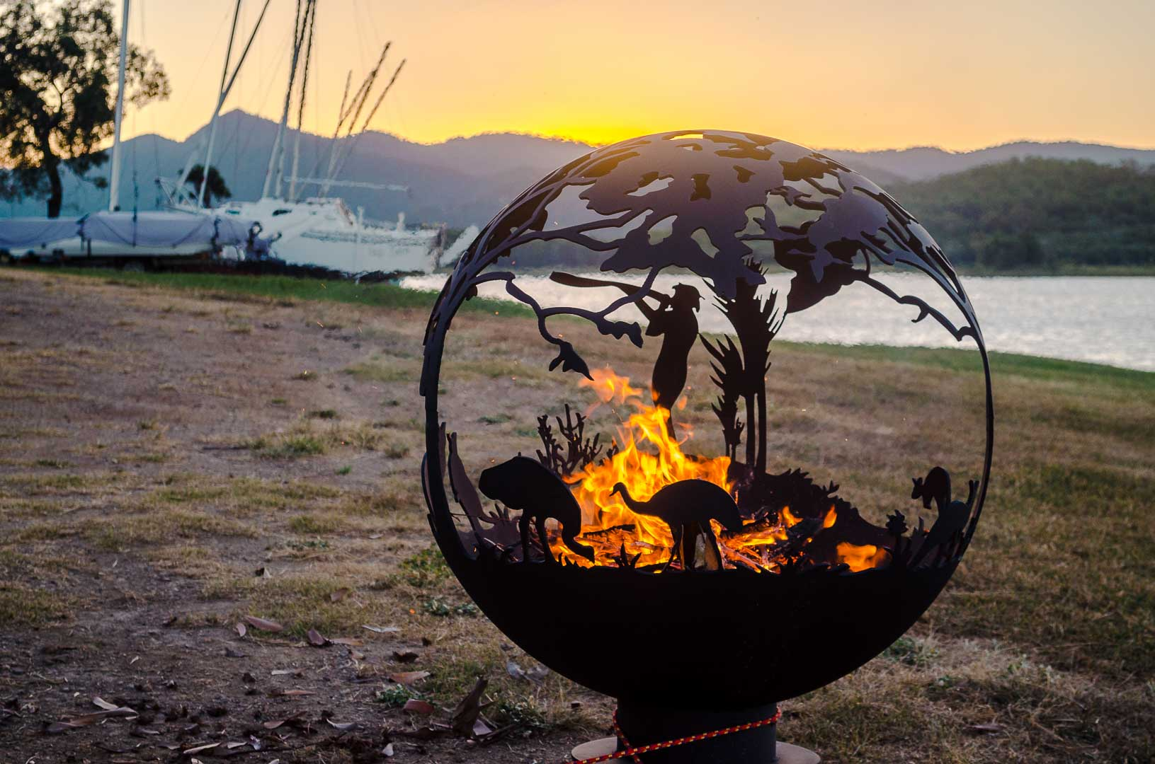 Aussie outback fire pit for sale