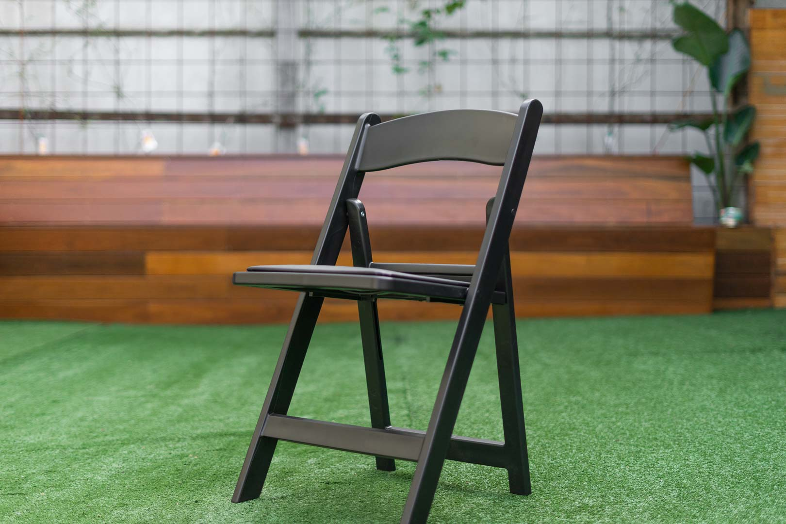 black americana chair