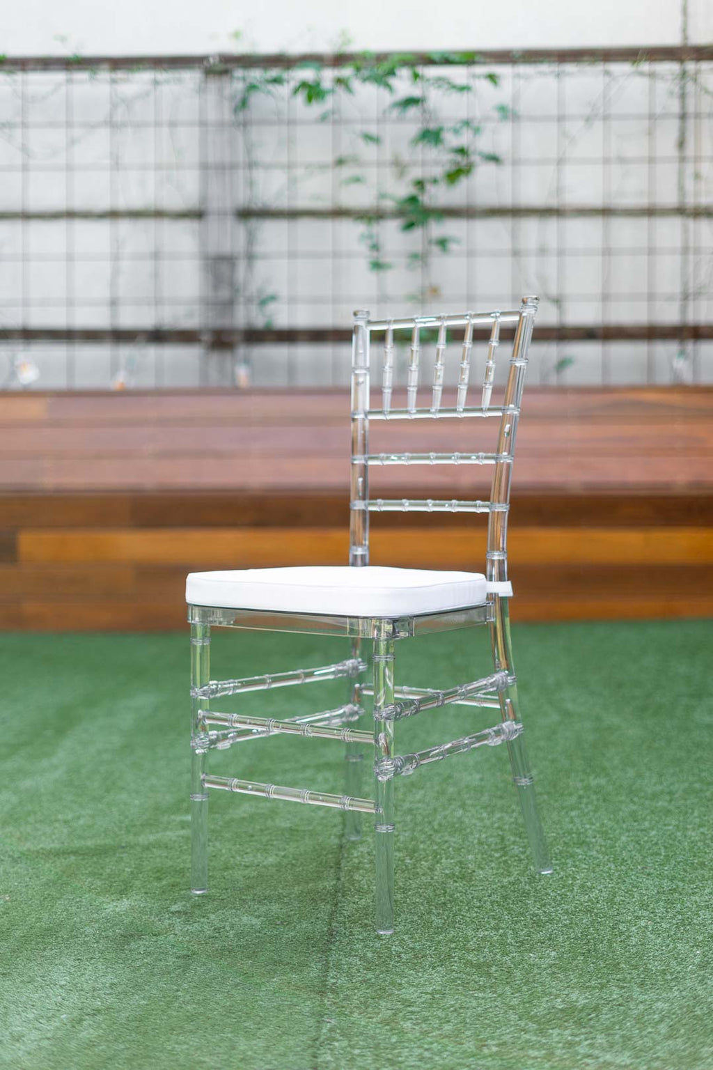 Clear Tiffany Chairs - wedding chair
