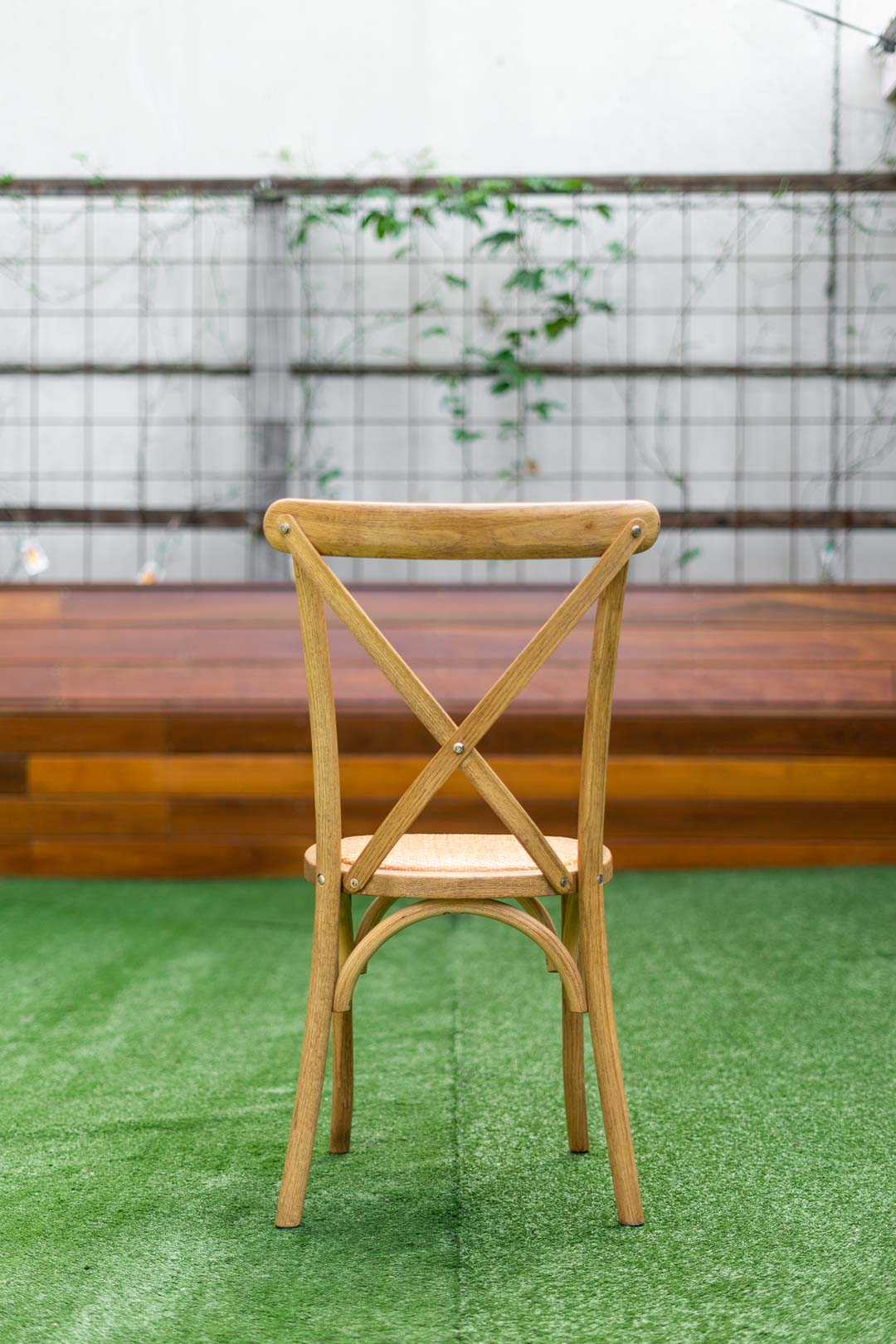 Crossback Chair rattan seat bentwood