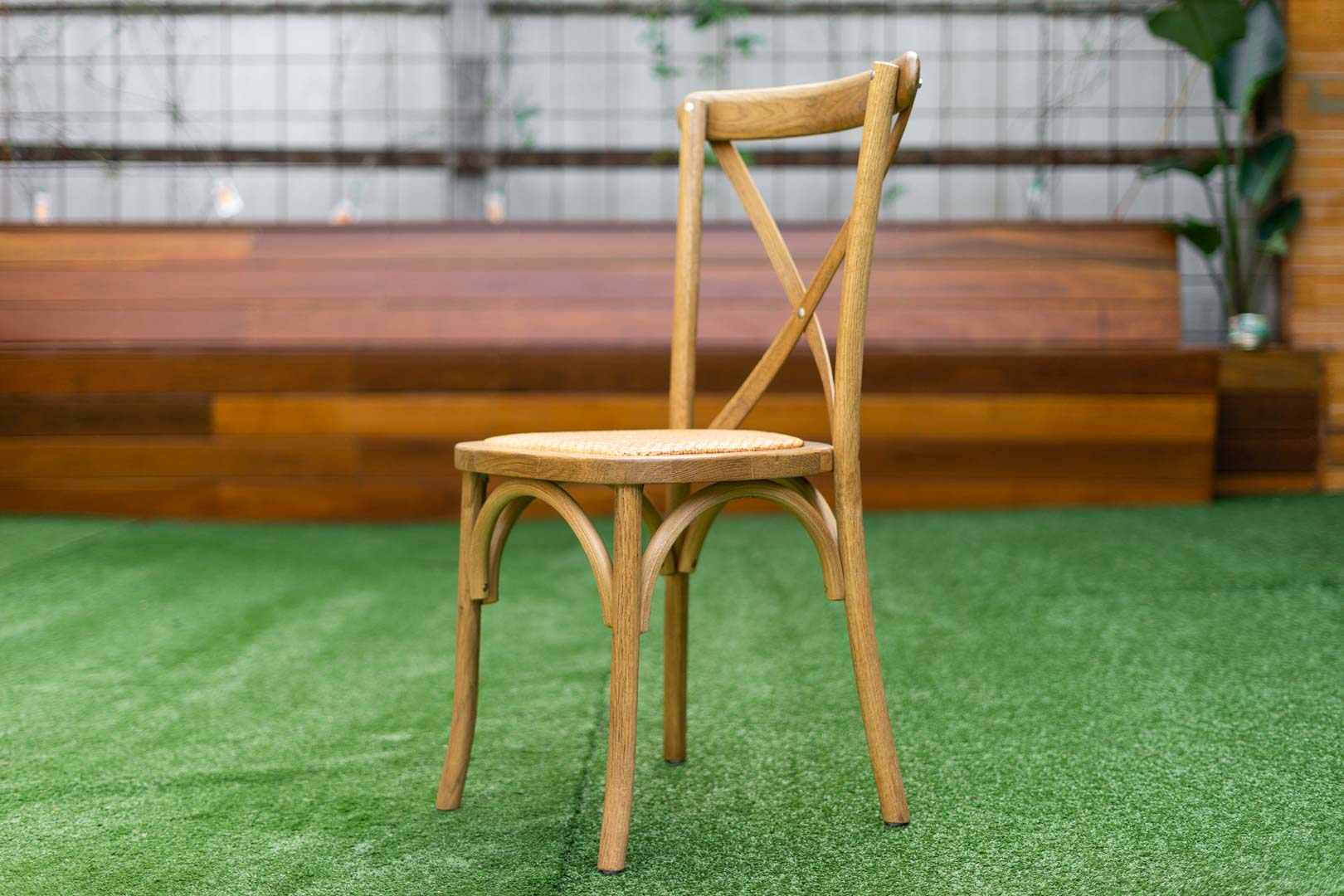 rattan seat bentwood Crossback Chair