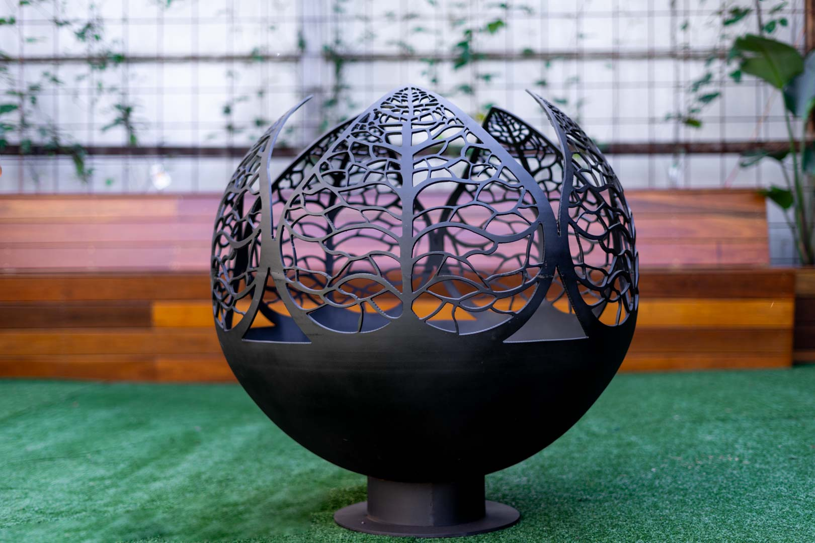 Fern Valley Fire Pit Sphere