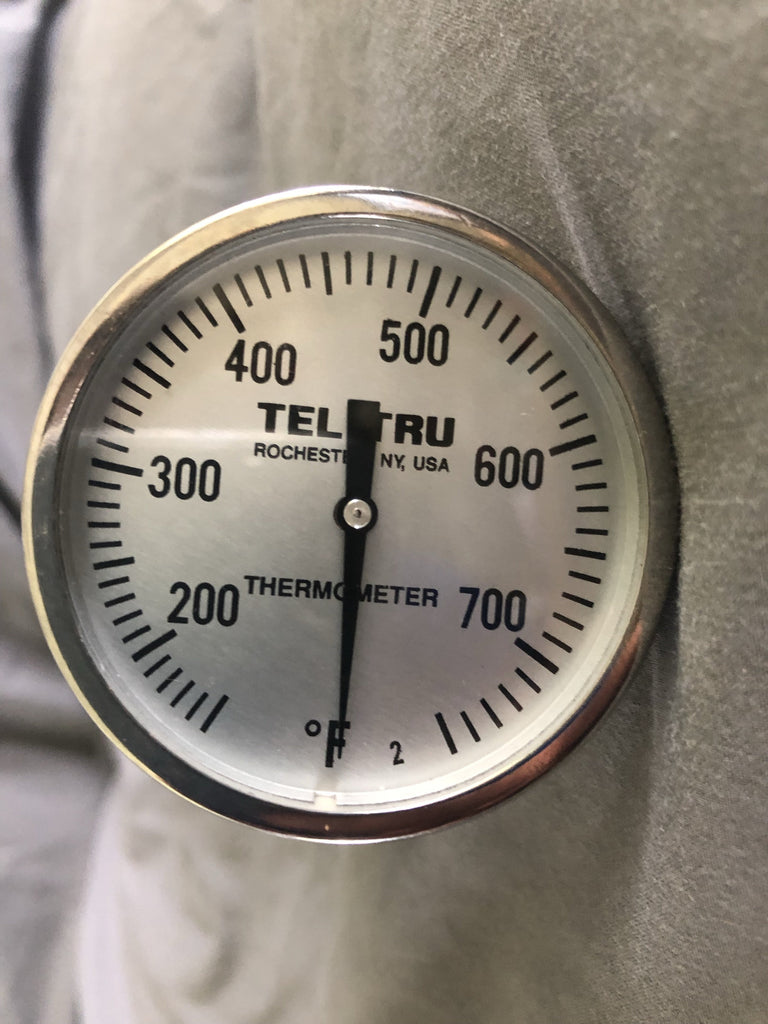 Tel Tru Thermometer LT225R - for Big Green Egg and others