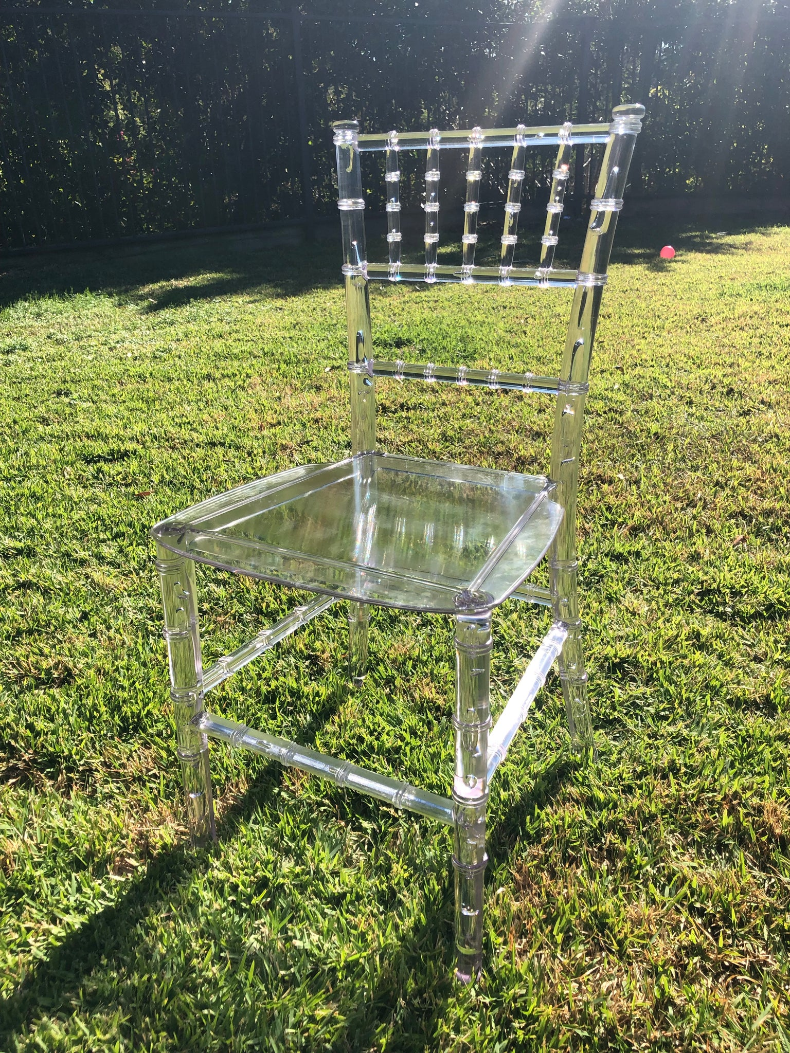Kids Tiffany Chair - Clear | Kids Chiavari Chair