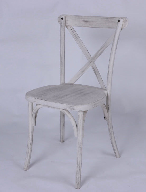 Crossback Plastic Bentwood chair