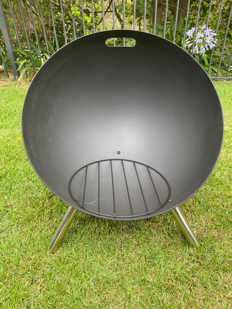 60cm Retro Fire Pit with Grill