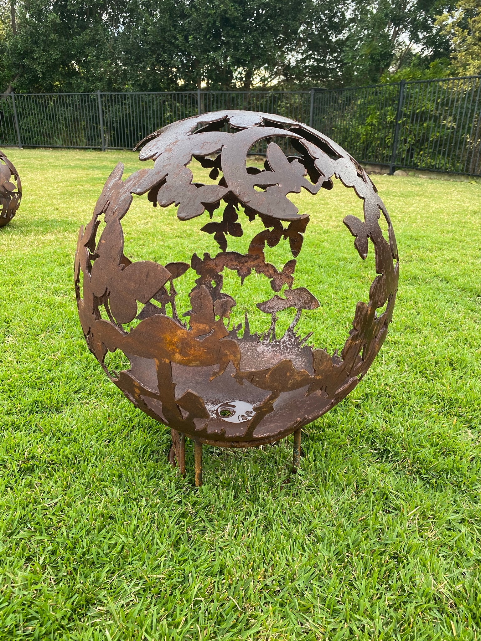 Fairy Dream - 50cm Steel Fire Pit