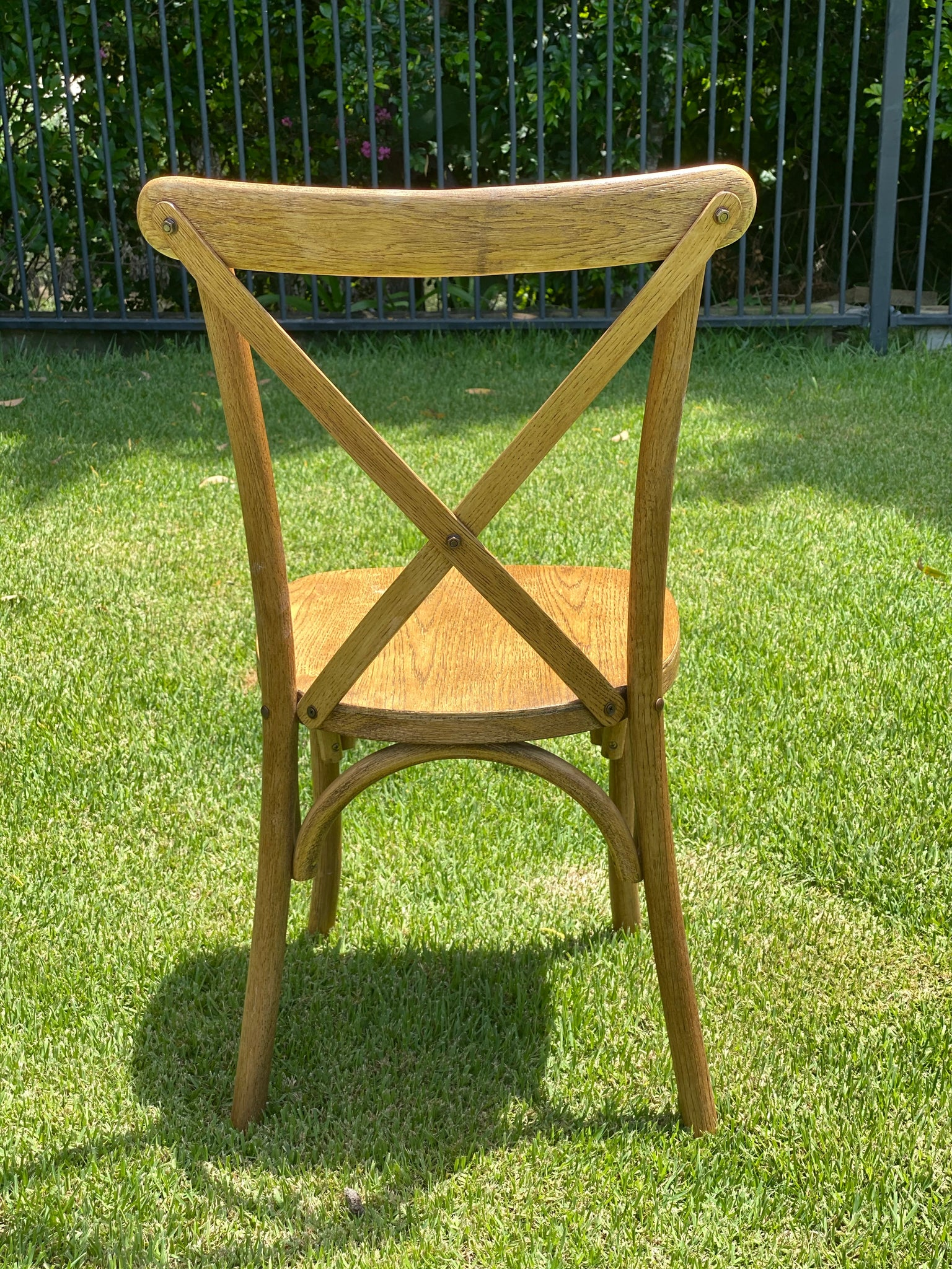 Bentwood Oakwood Cross back chair