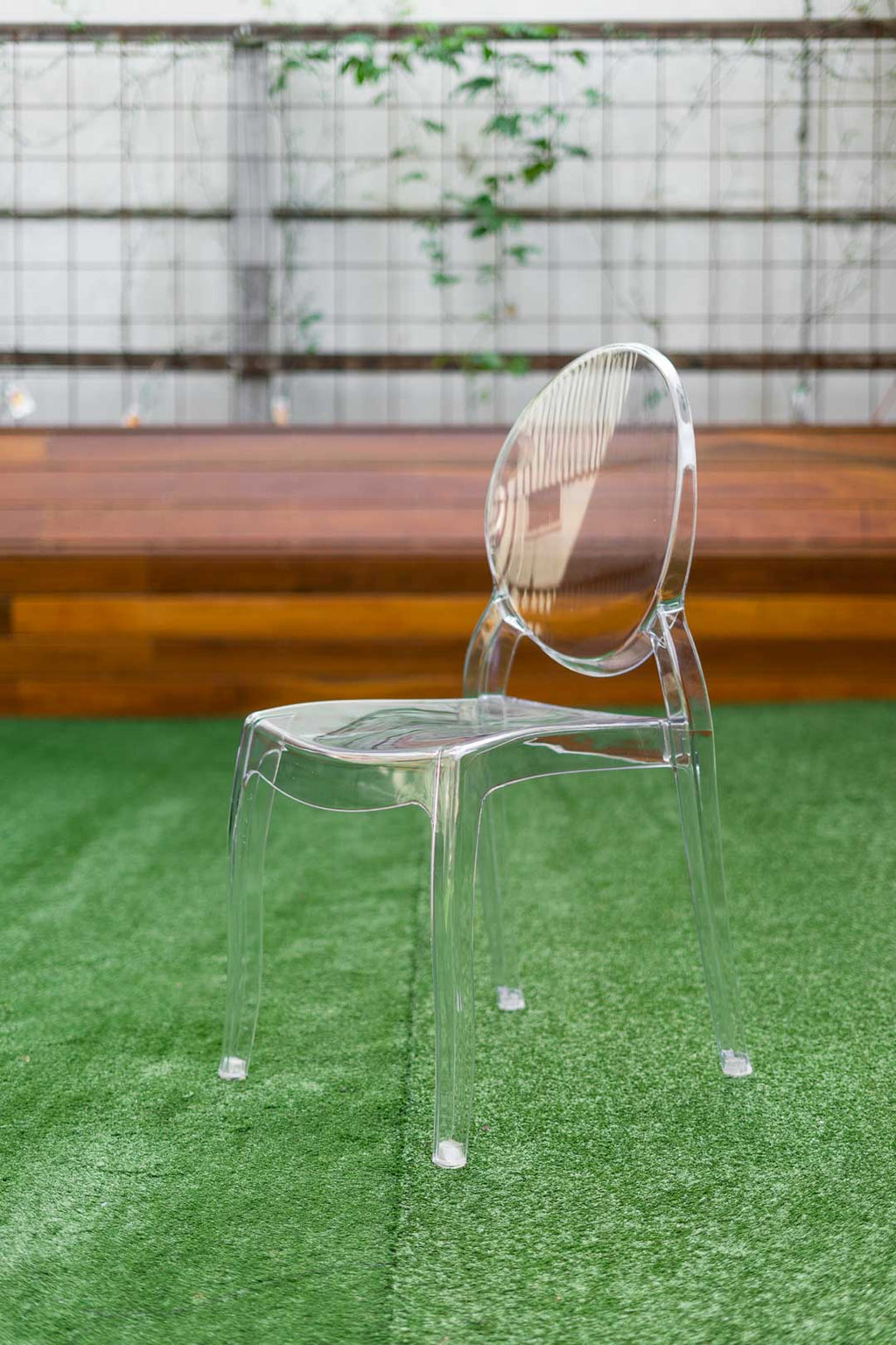 clear ghost chair