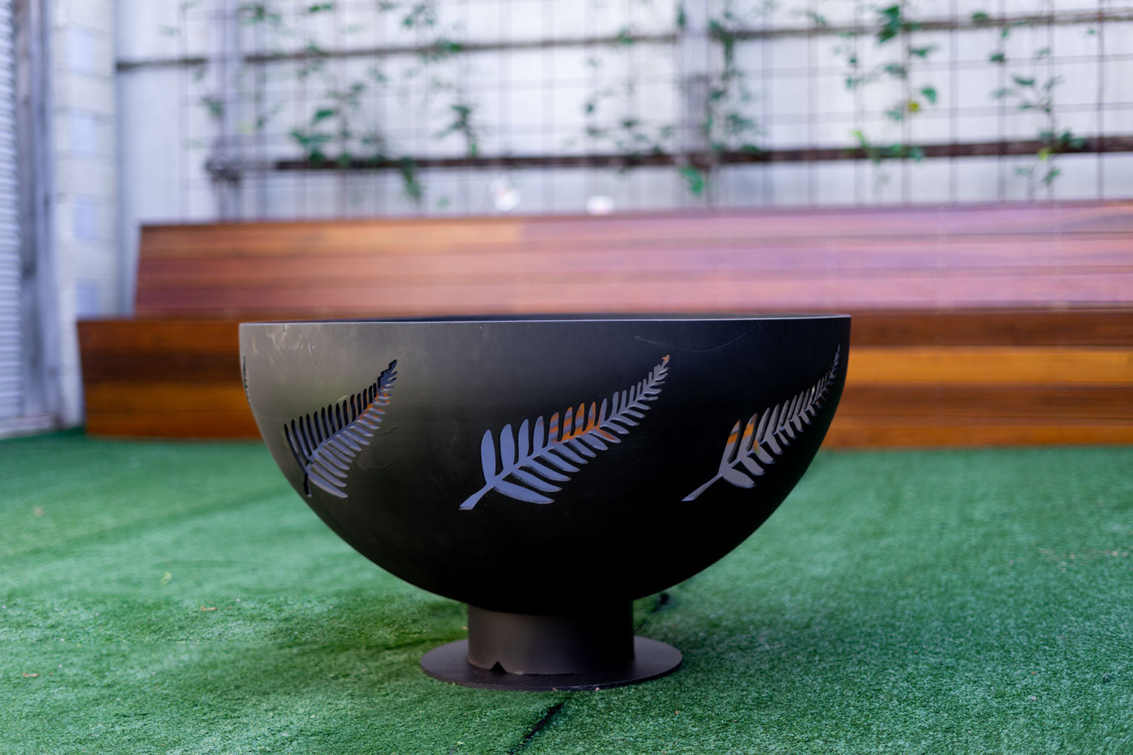 The Fern - Half Sphere Fire Pit