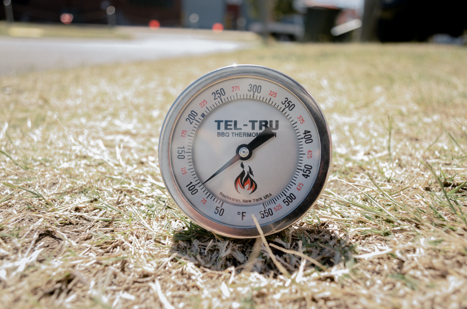 silver tel tru thermometer for sale