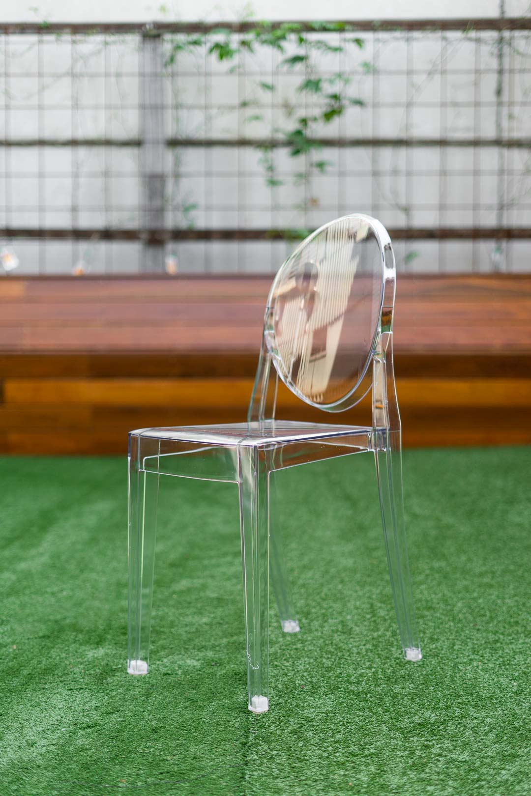 Clear Ghost Chairs - Replica - Small Seat - Adult Size