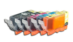 Examples of ink cartridges.