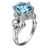December Birthstone Zircon Ring