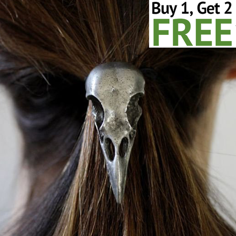 Crow Skull Hair Band (Buy 1 Get 2 Free!)