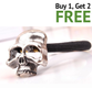Skull Rope Elastic Hair Band ( Buy 1 Get 2 Free! )